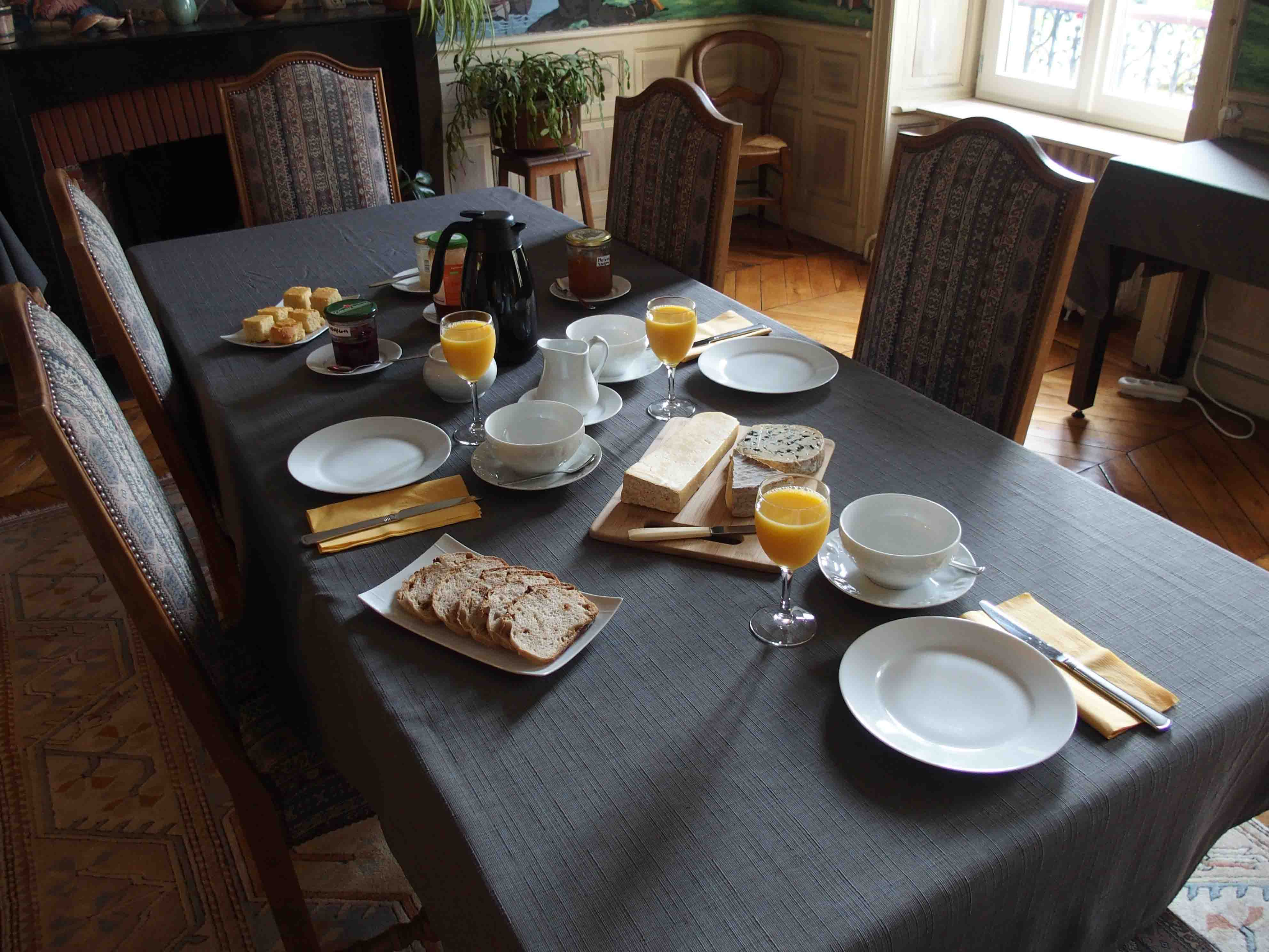 Wel e to La Pradelle Bed and Breakfast at Saint Simon near
